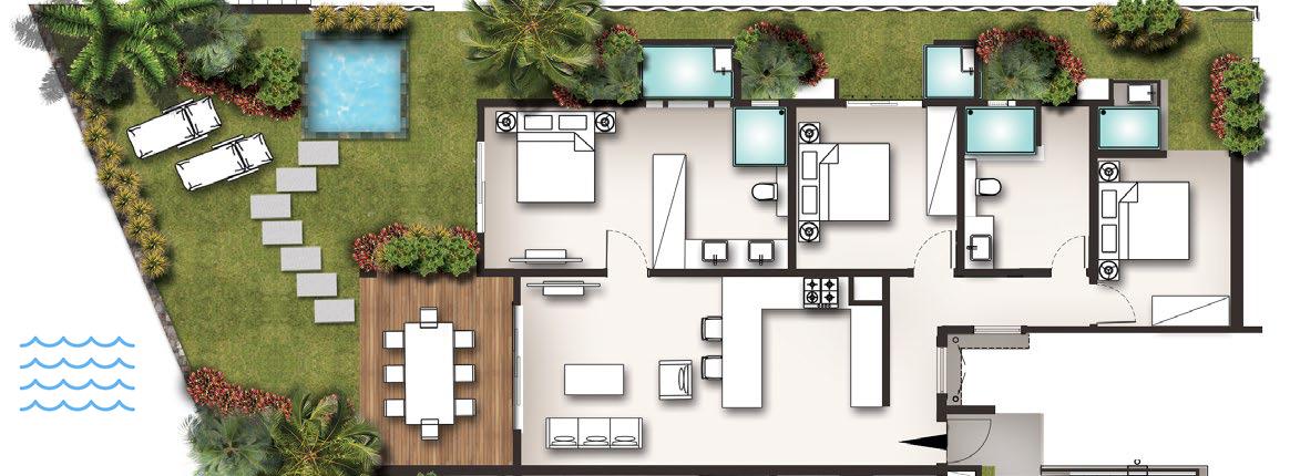 Ocean Garden - Appartements et villas pour investir à l'île Maurice l Les Villas de Maurice