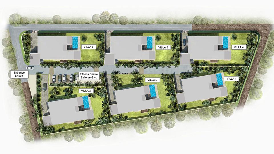 Villas T4 et appartements neufs à vendre à l'île Maurice l Les Villas de Maurice